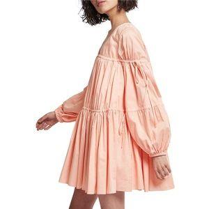 Aje Overture Gathered Smock Dress